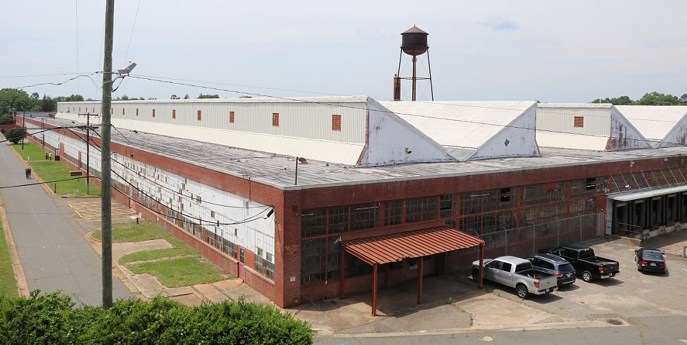 former Ford factory in Charlotte, North Carolina