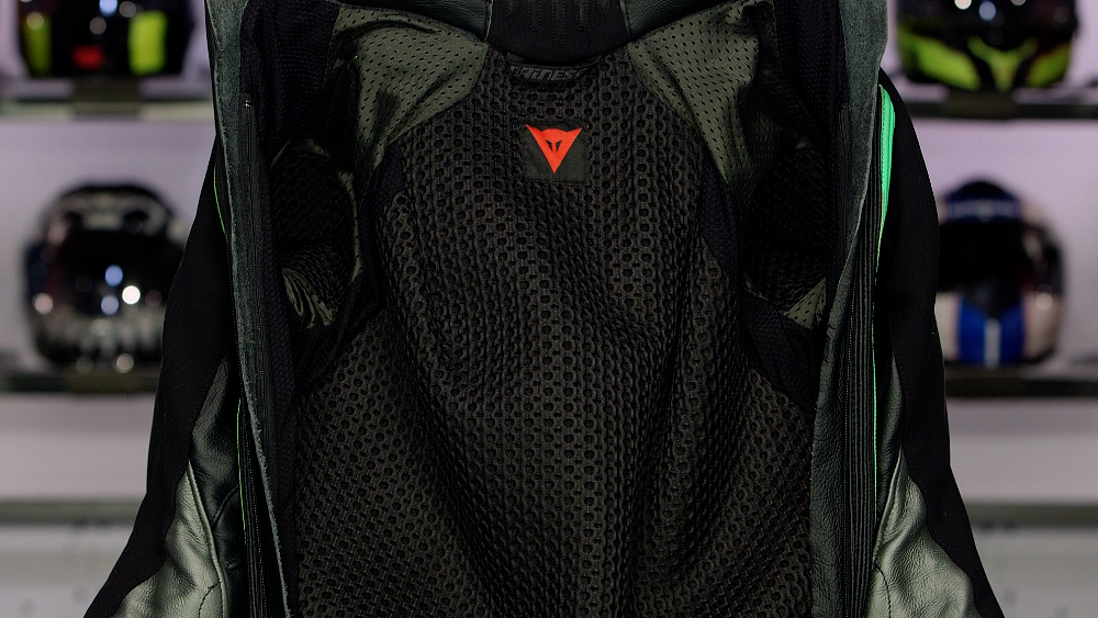 Motorcycle Race Suit Interior