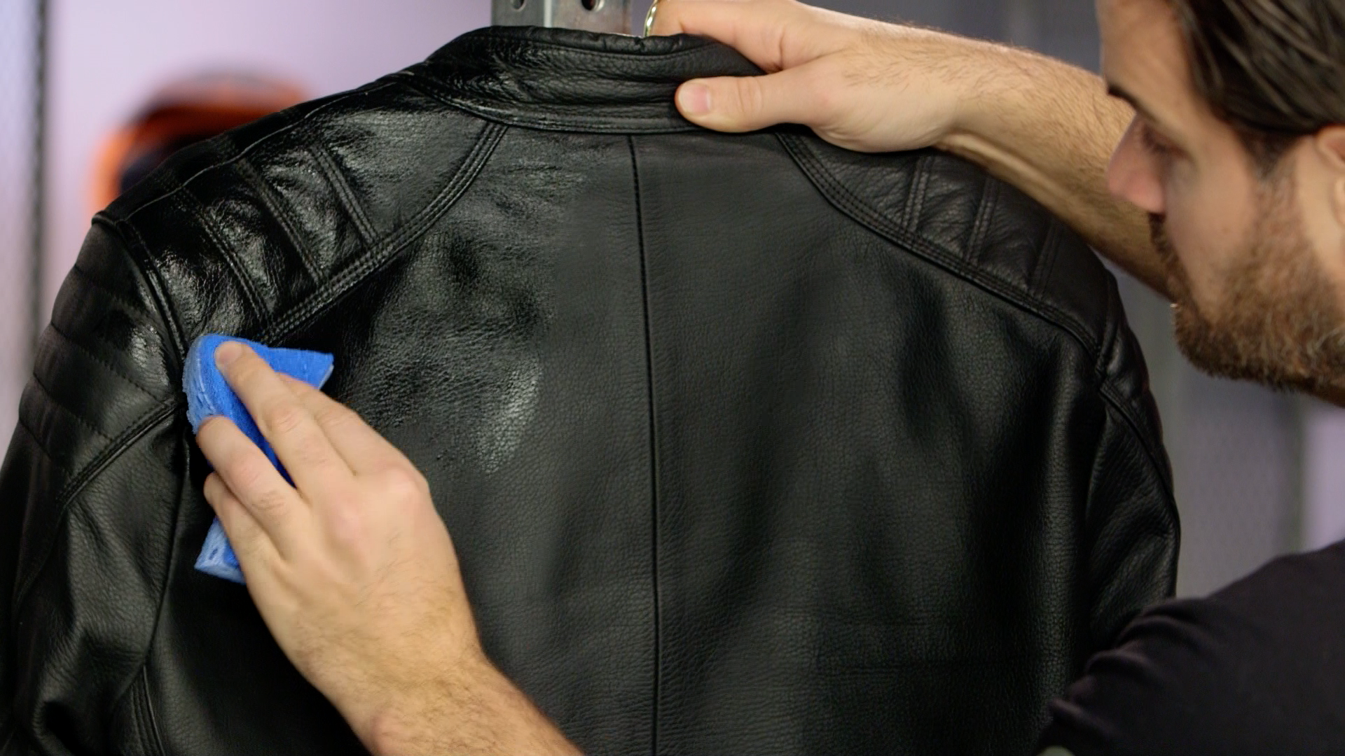 How to clean a leather jacket by yourself 89
