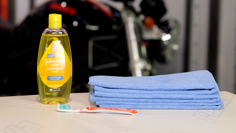 Motorcycle Helmet Cleaning Supplies