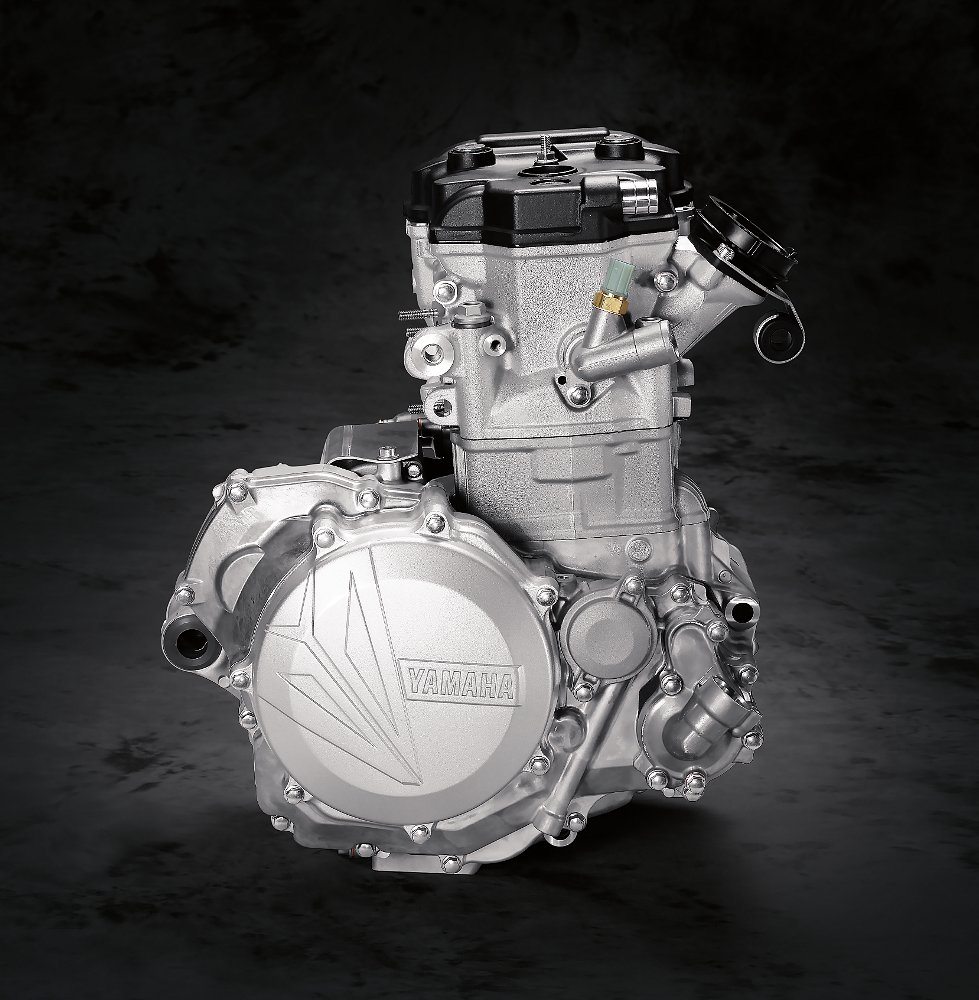 2018 Yamaha YZ450F engine