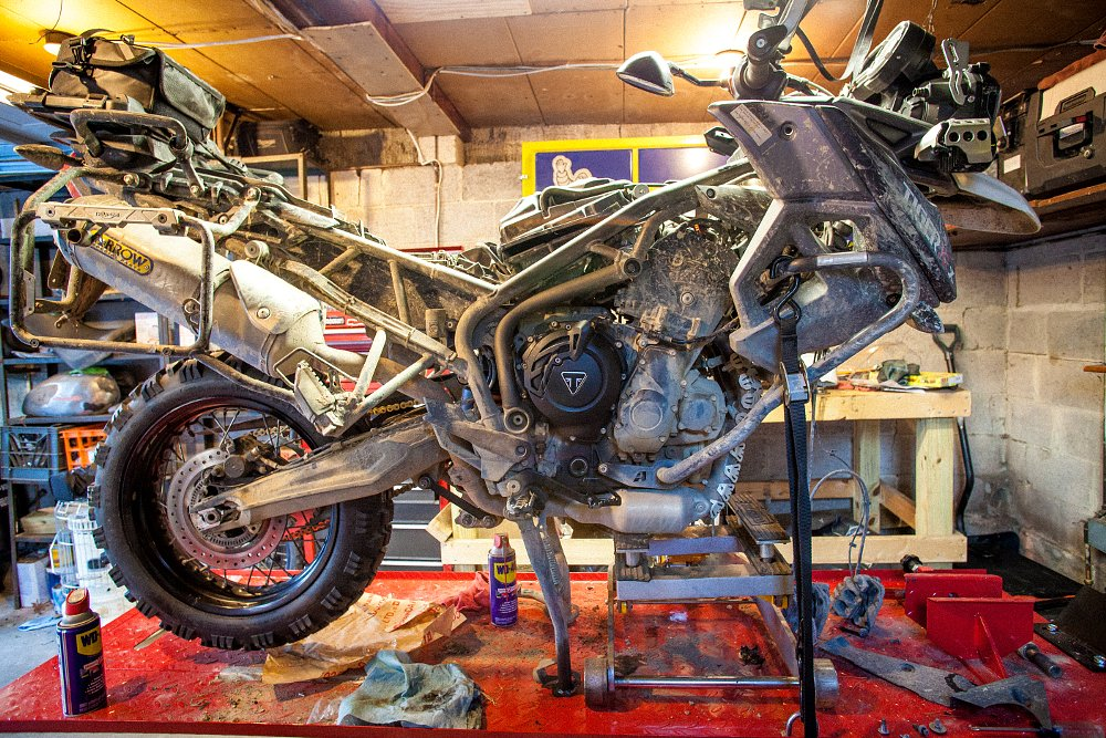 Triumph Tiger 800 XCx Modifications