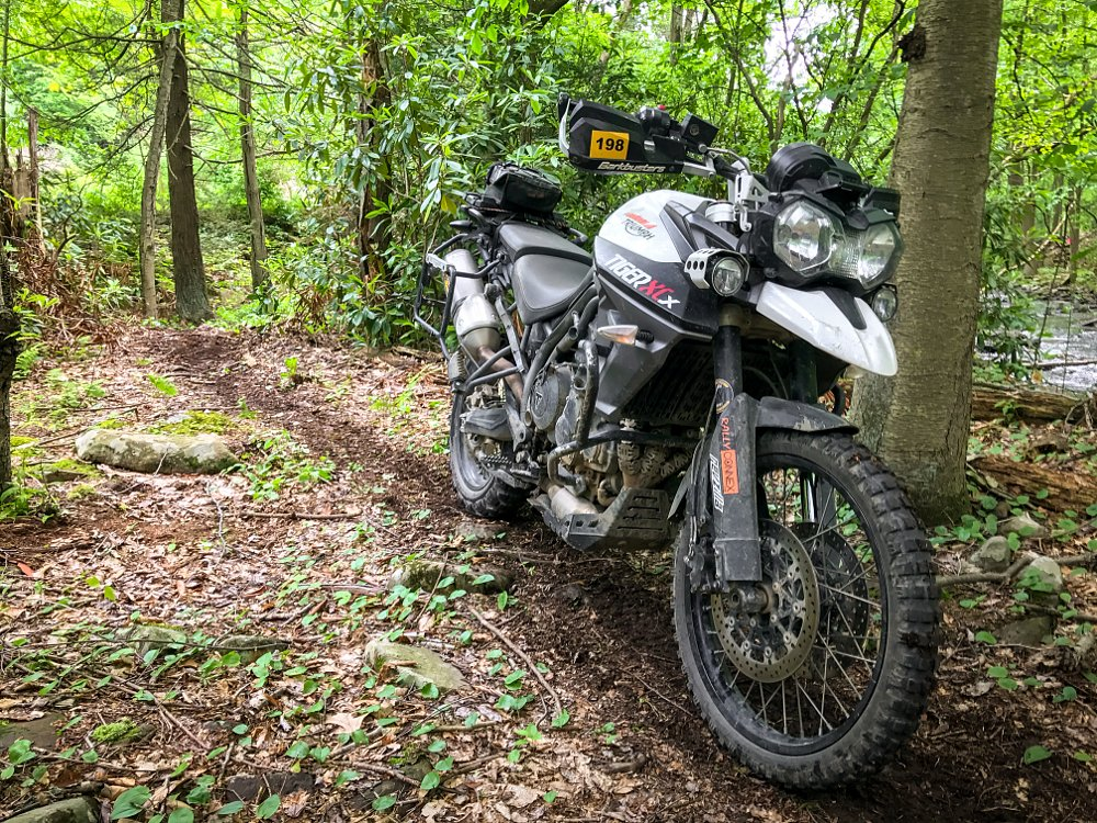 Triumph Tiger 800 XCx Konflict Suspension