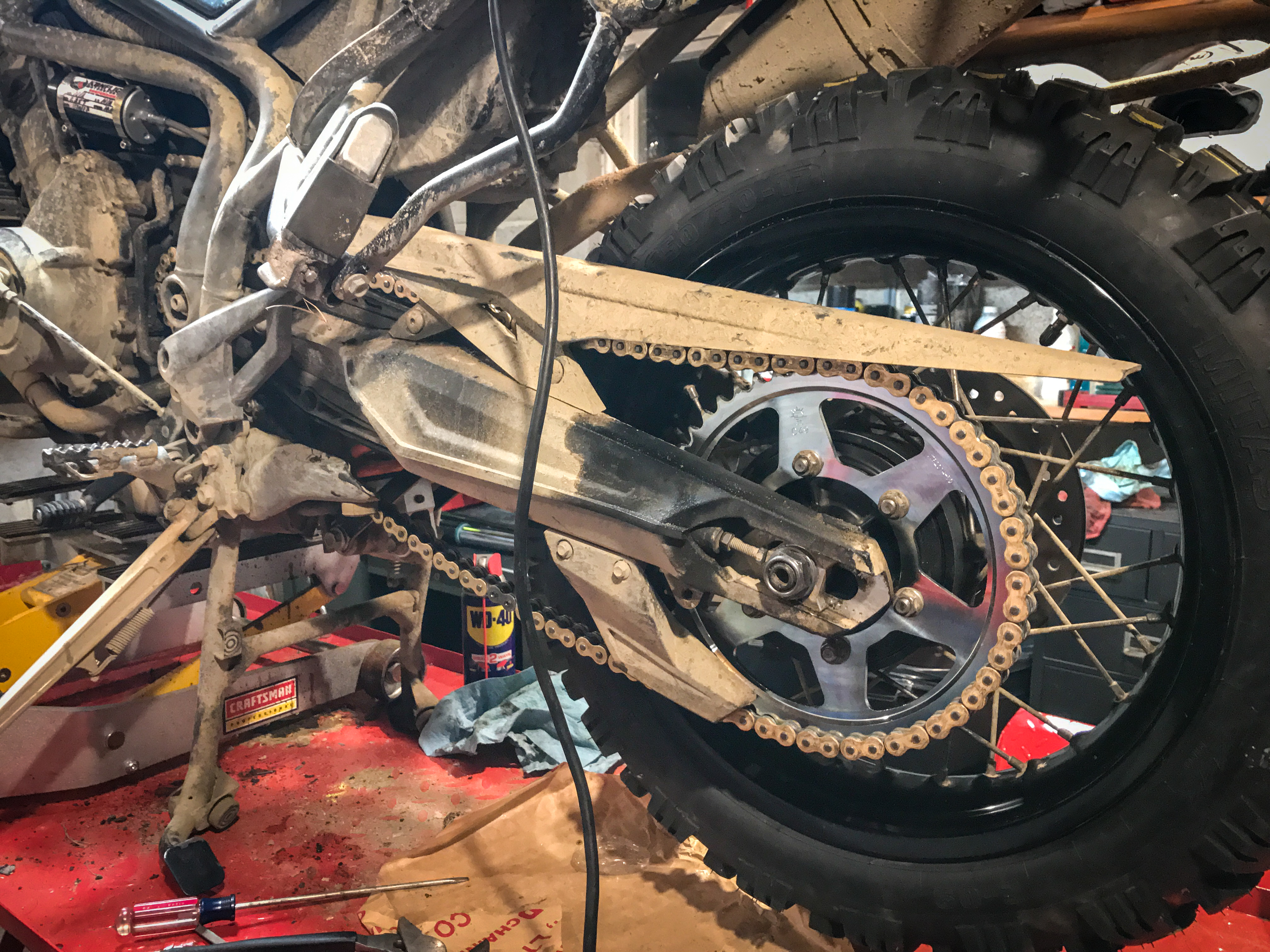 Tiger Tales Modifying An Adventure Bike For Off Road Abuse Revzilla