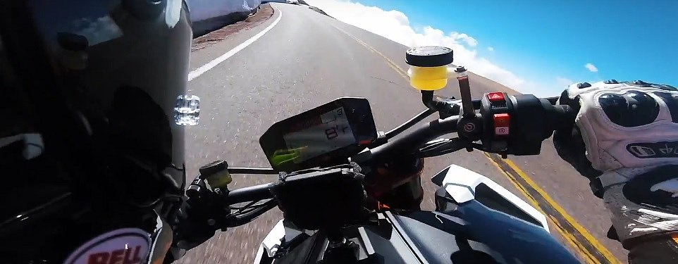 Video: Ride with Chris Fillmore on the fastest run up Pikes Peak yet