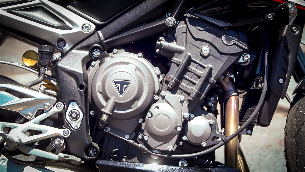 Triumph Street Triple RS 765 Engine