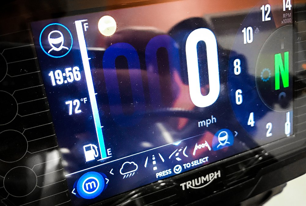 Triumph Street Triple RS TFT Dash