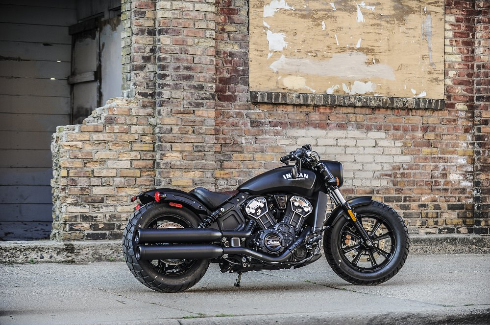 2018 Indian Motorcycle Rumors >> 2018 Indian Scout Bobber first ride review - RevZilla