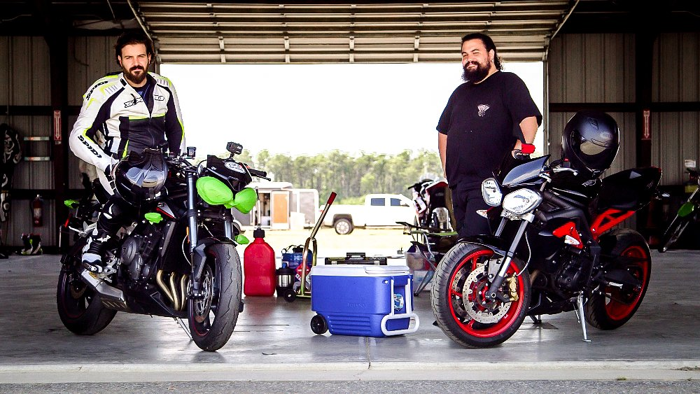 Triumph Street Triple RS Spurgeon and Lemmy