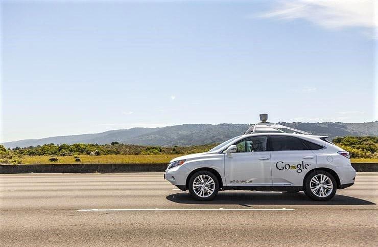 Google vehicle