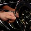 Loosening_motorcyle_clutch_adjuster_jam_nut