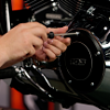 Installing_motorcycle_clutch_cover
