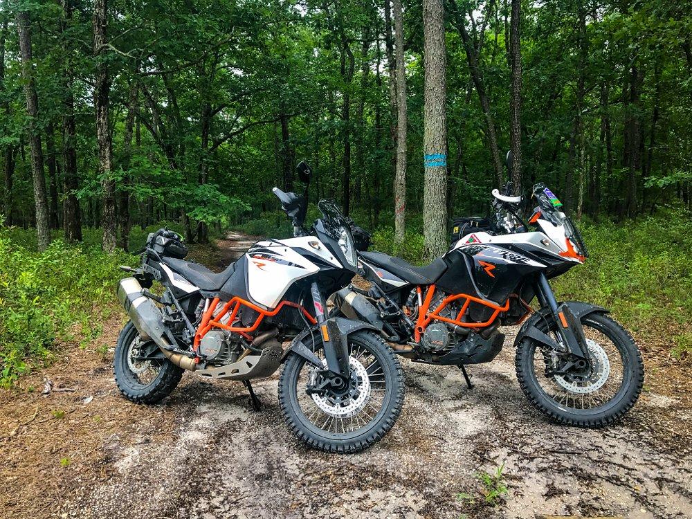 KTM 1090 Adventure R and 1190 Adventure R