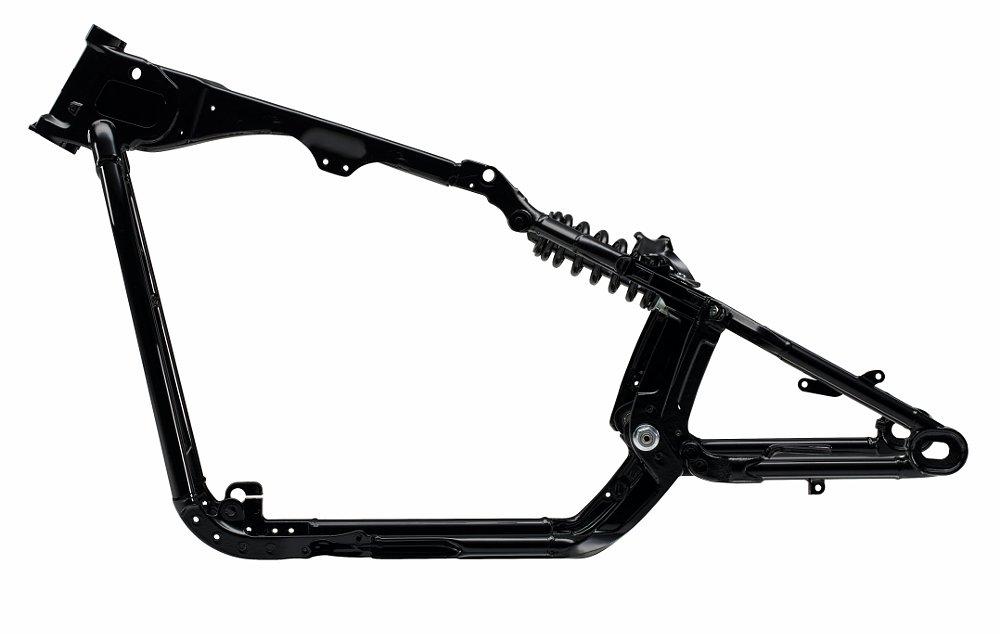 New Softail frame