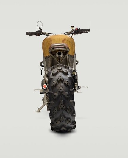 Frank custom motorcycle