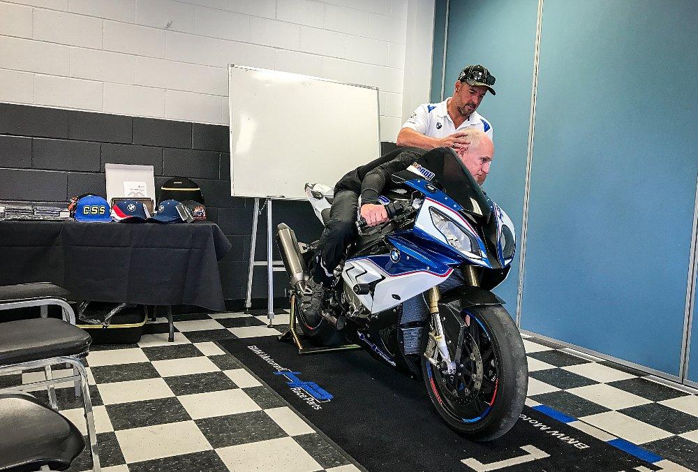 California Superbike School Hook Turn