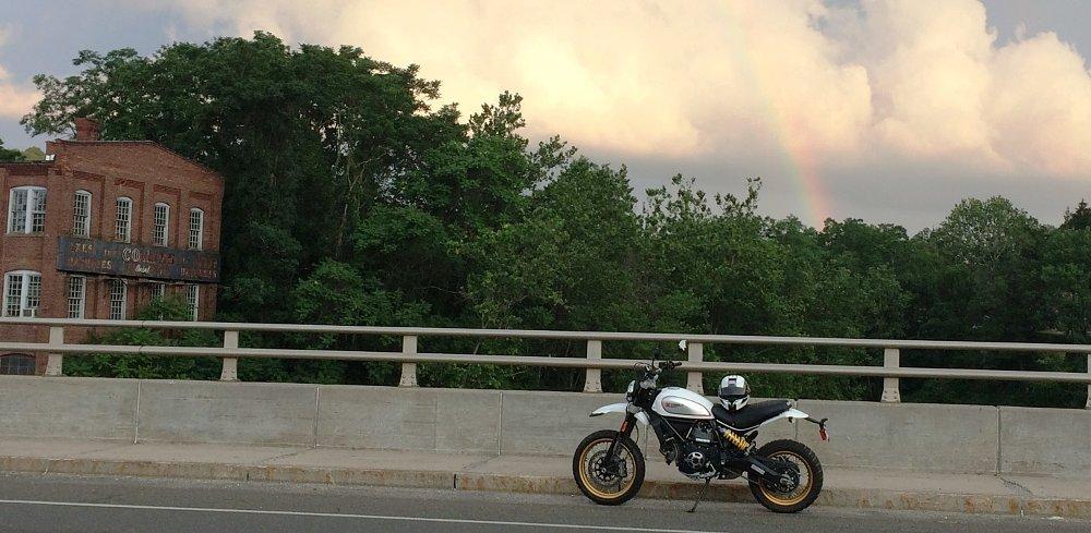 Ducati Scrambler Desert Sled chases rainbows