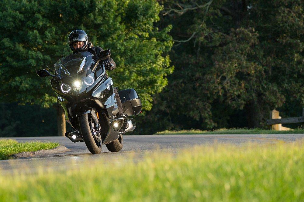 Riding BMW