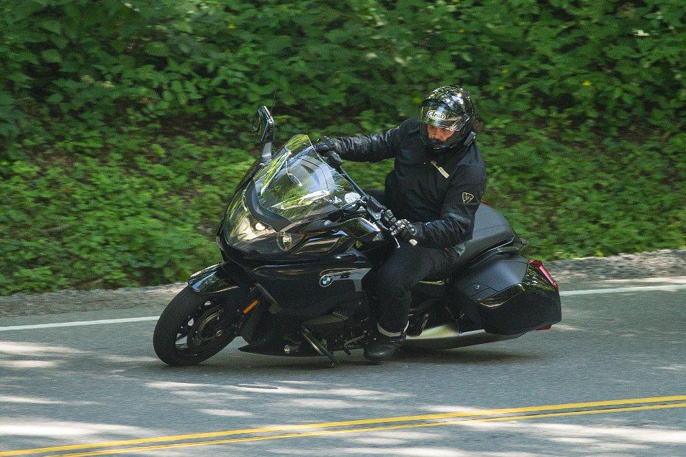 Riding BMW again.