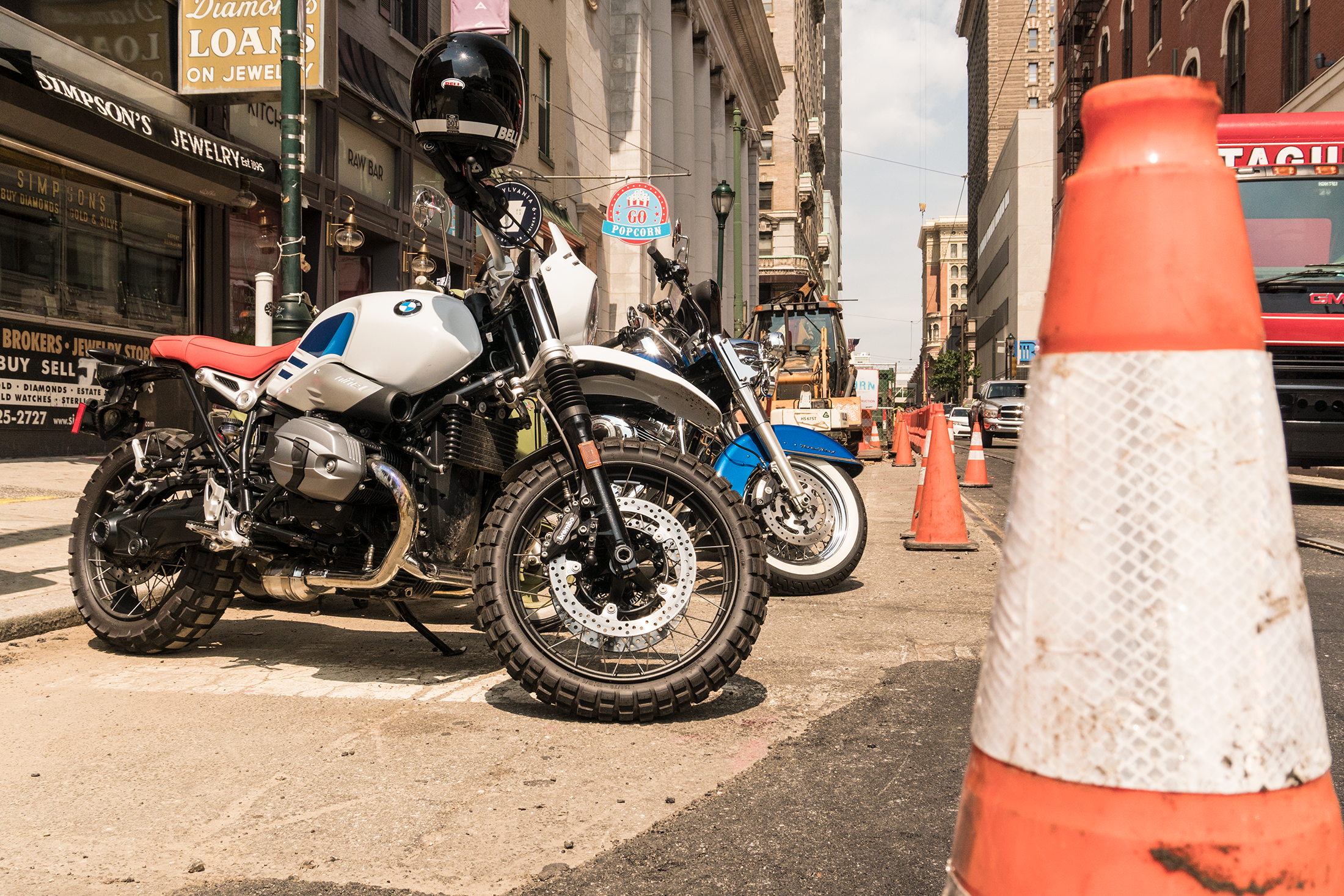 2018 BMW R nineT Urban GS first ride review - RevZilla