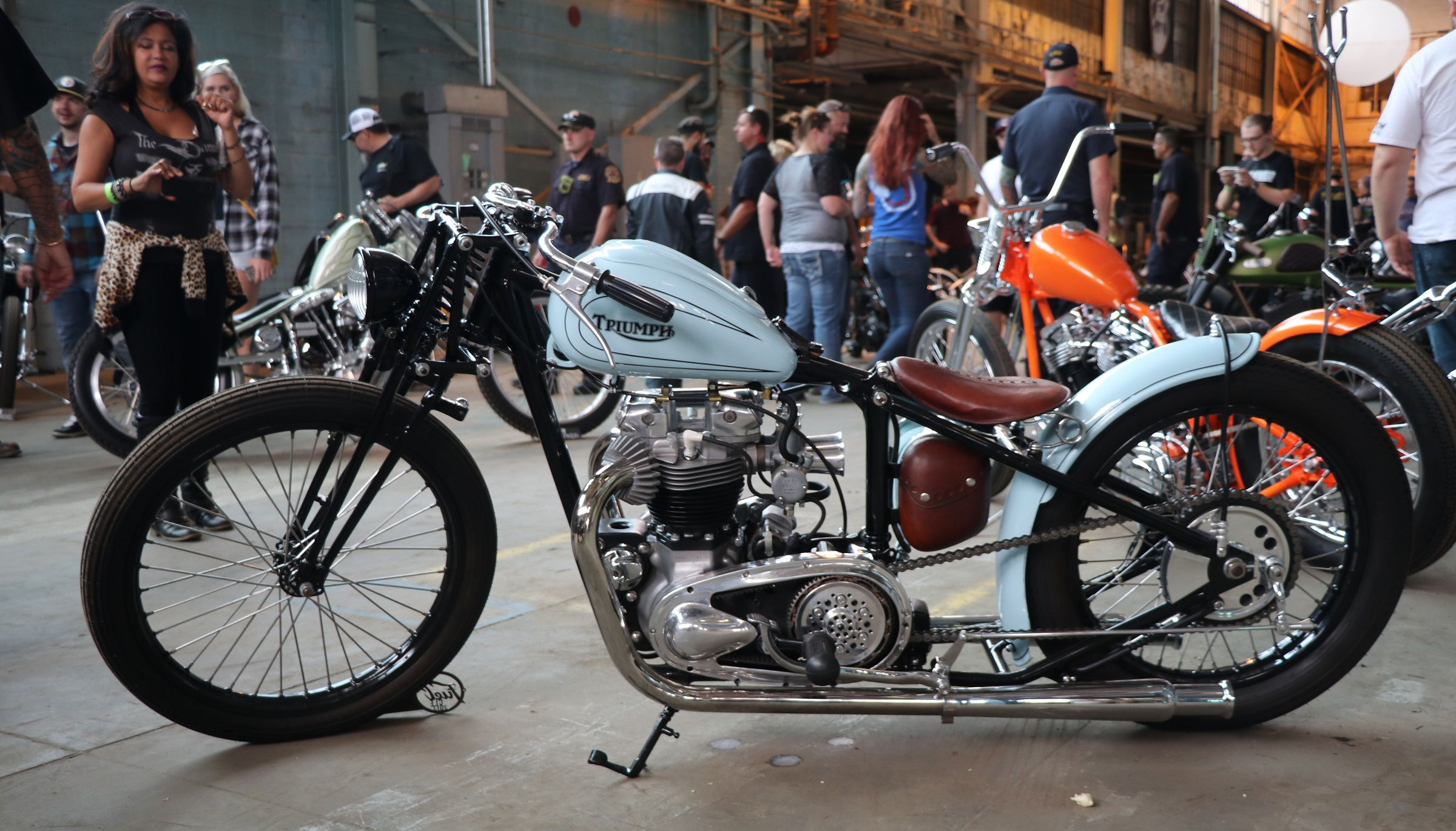 Inside the Fuel Cleveland custom motorcycle show - RevZilla