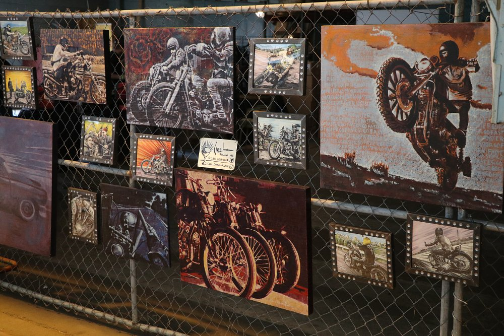 art work at Fuel Cleveland show