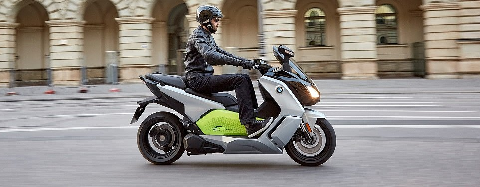 "BMW puts the ""premium"" in electric scooters"
