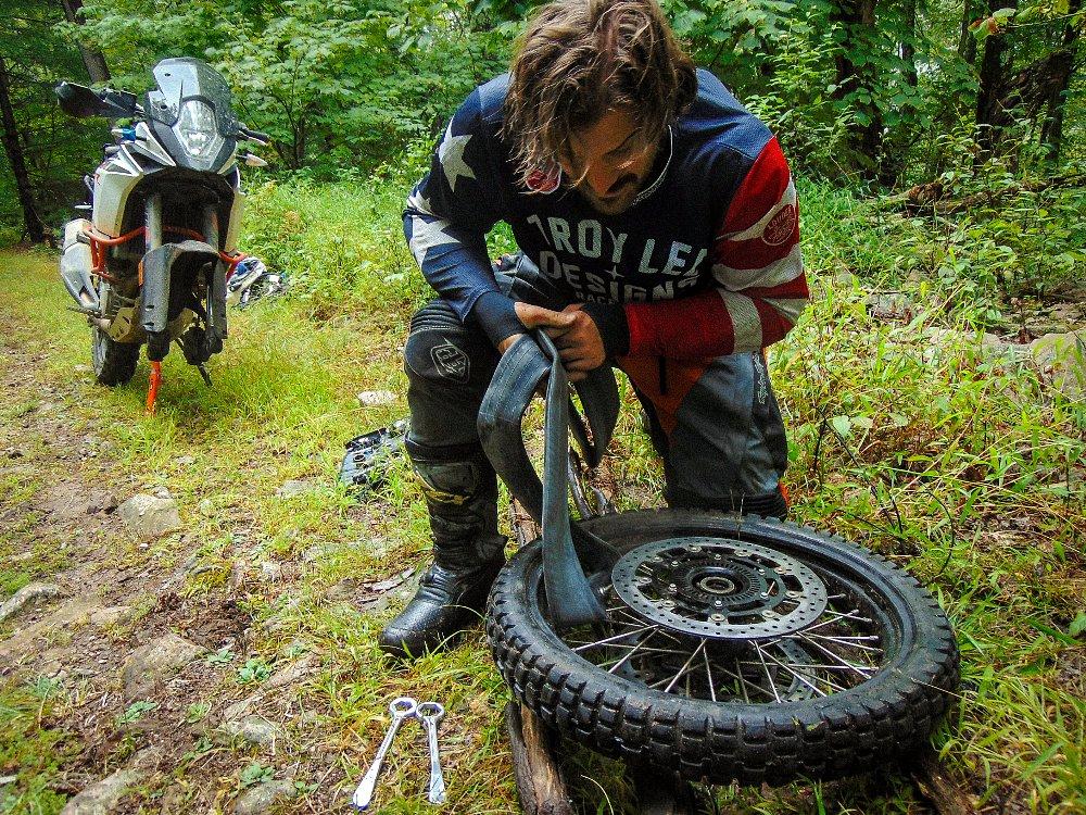 KTM 1090 Adventure R Review Spurgeon Dunbar Snap Jack