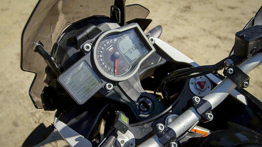 KTM 1090 Adventure R Dash