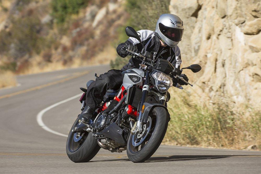 2018 Aprilia Shiver 900 first ride review