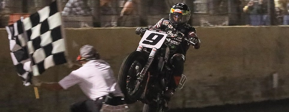 Jared Mees completes American Flat Track domination with record-setting win