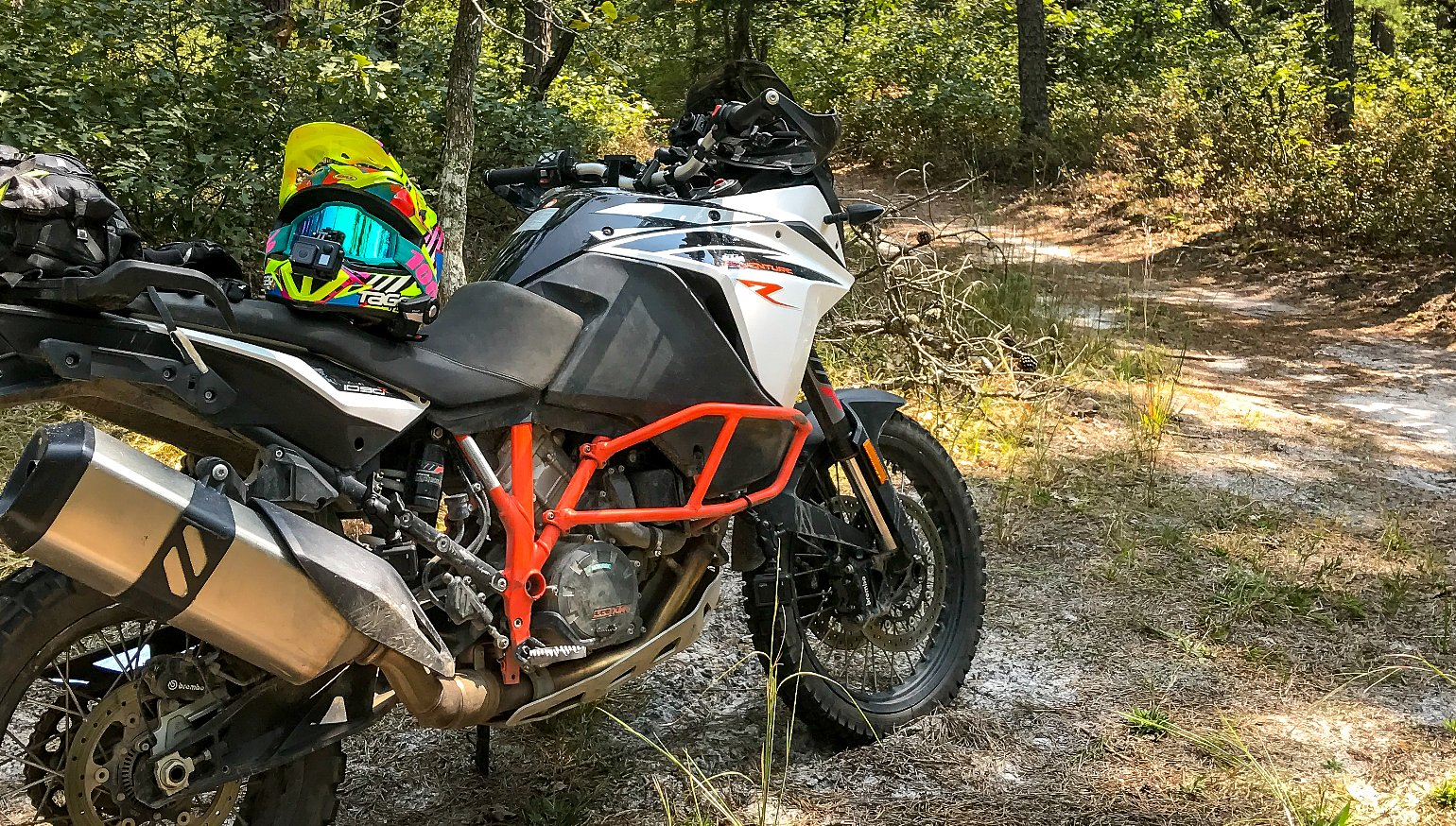 You Needed To Know Ktm 1090 Adventure R Revzilla Lc8 Wiring Diagram