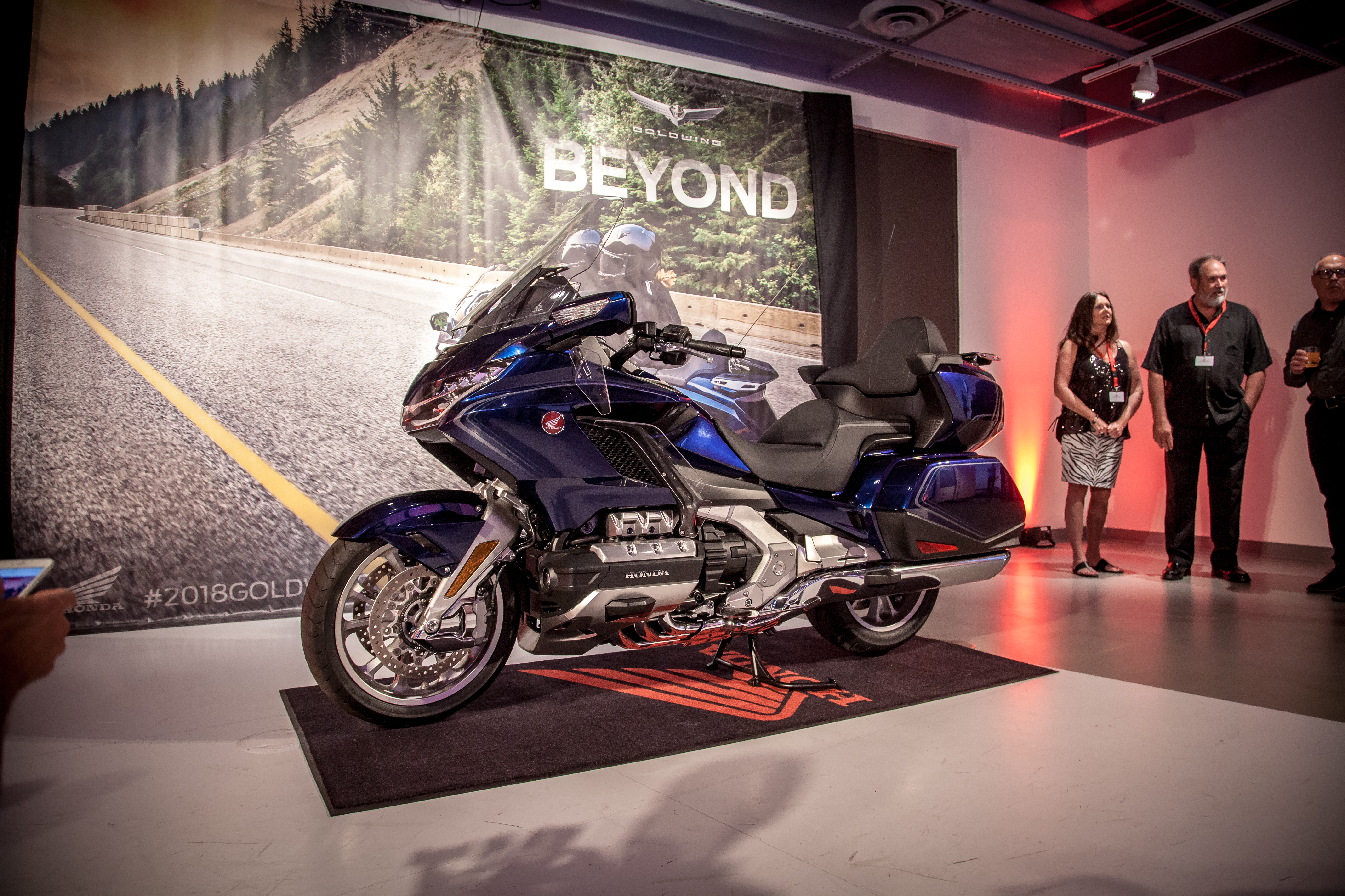 2018 honda gold wing tour first ride review revzilla 2018 honda gold wing first look discovering what lies beyond fandeluxe Gallery