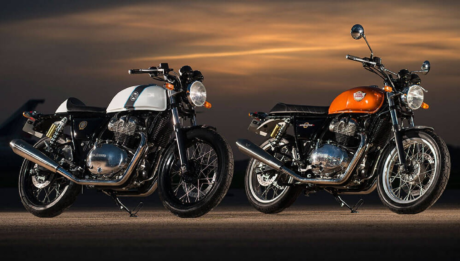 2018 Royal Enfield Interceptor 650 And Continental Gt First Look
