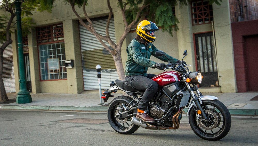 2018 Yamaha XSR700 first ride review