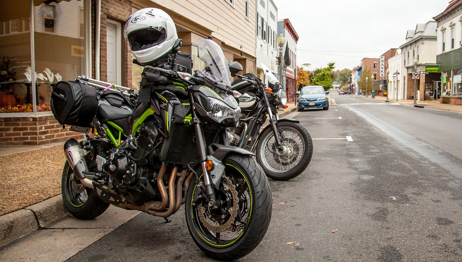 My Top Five Naked Bike Modifications For Touring