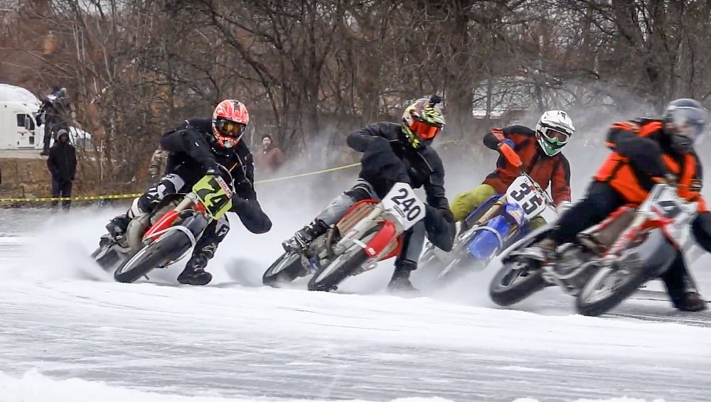 Video: Reviving an ice-racing event in Milwaukee for a cause