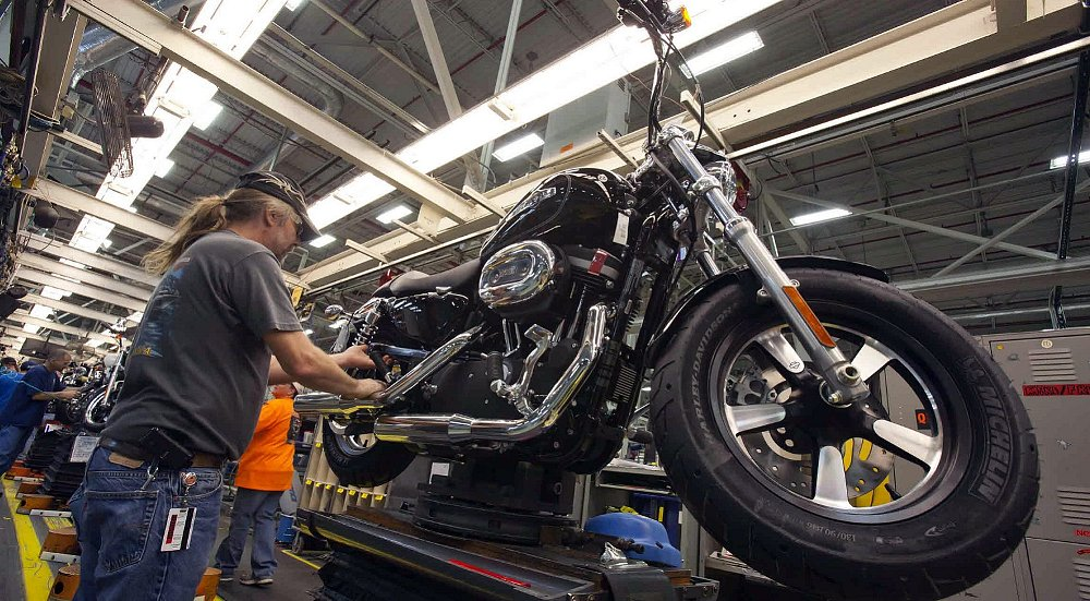 Tuesday was not a cheerful day in the U.S. motorcycle industry