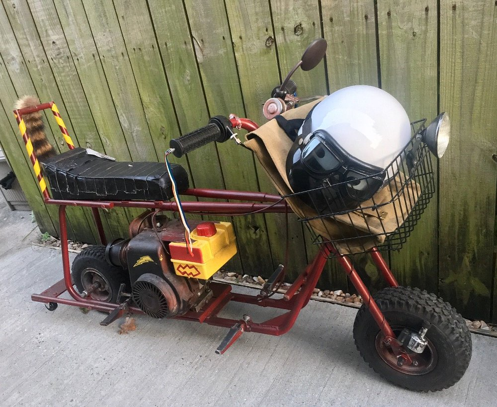 For sale: original Dumb & Dumber minibike