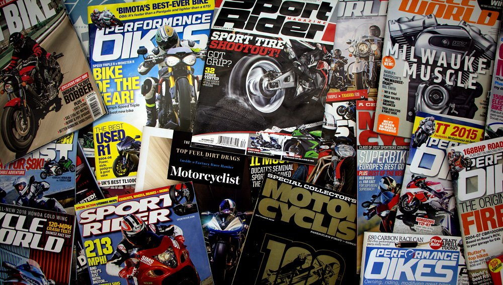 Turnover in motorcycle media shifts up a gear in 2018