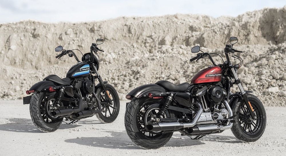Two new Sportsters: the Forty-Eight Special and the Iron 1200
