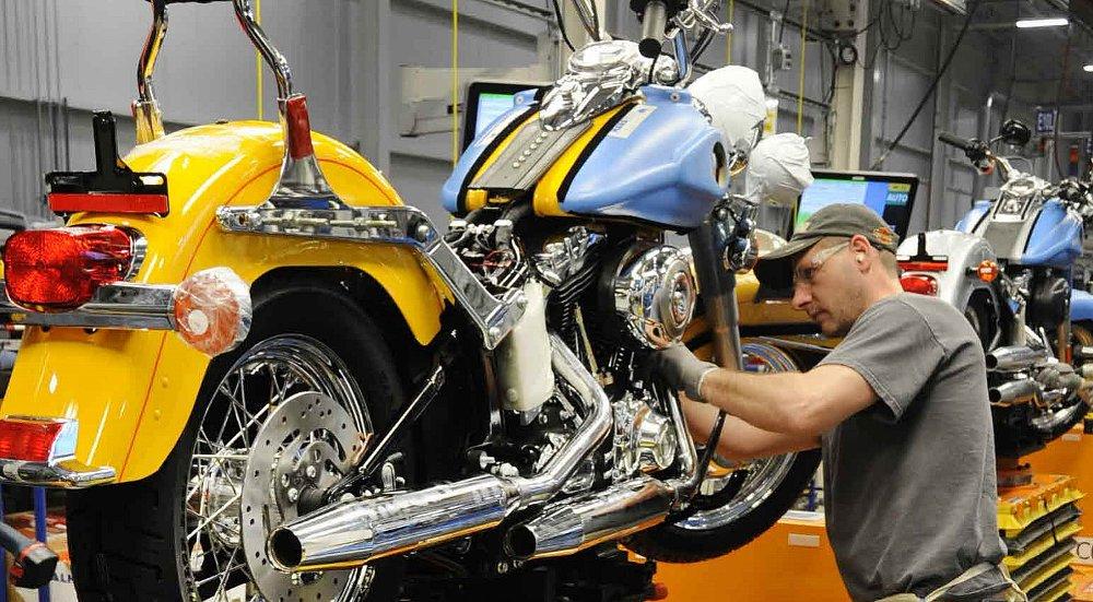 Motorcycle manufacturers worried about trade war rhetoric