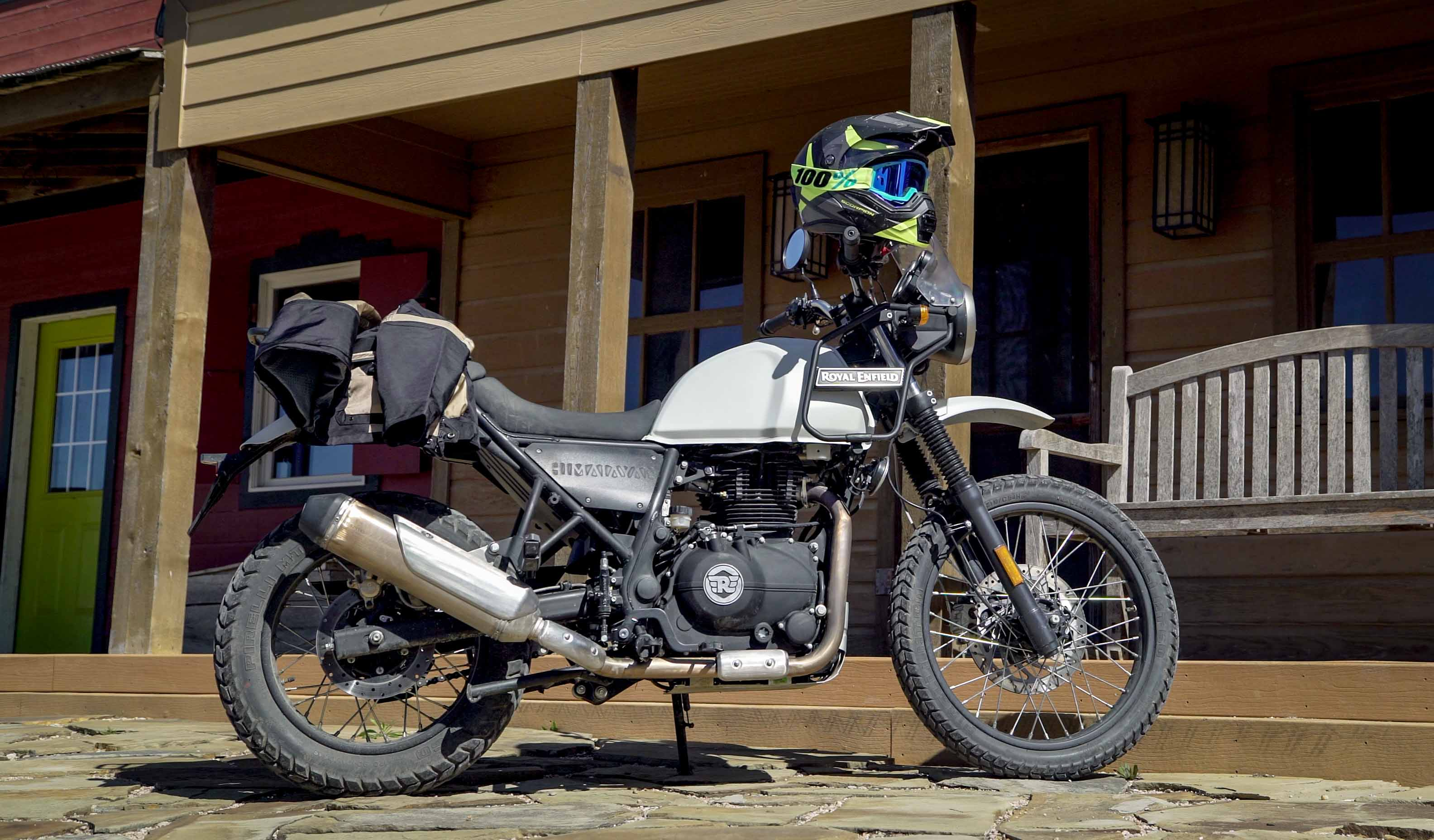 Royal Enfield Himalayan First Ride Review Revzilla