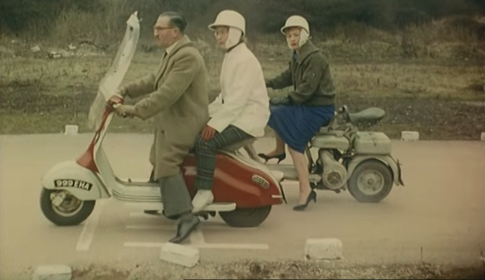 Video: Motorcycle training 60 years ago