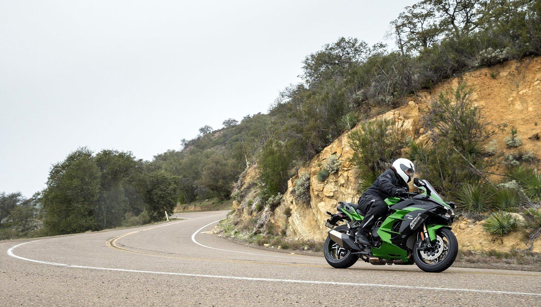 2018 Kawasaki H2 Sx Se First Ride Review Revzilla