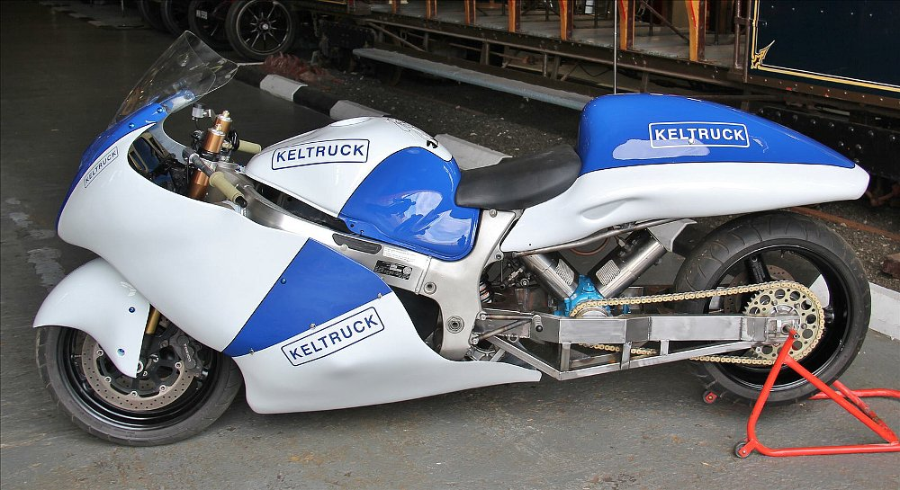 Video: A steam-powered Hayabusa? Why not?