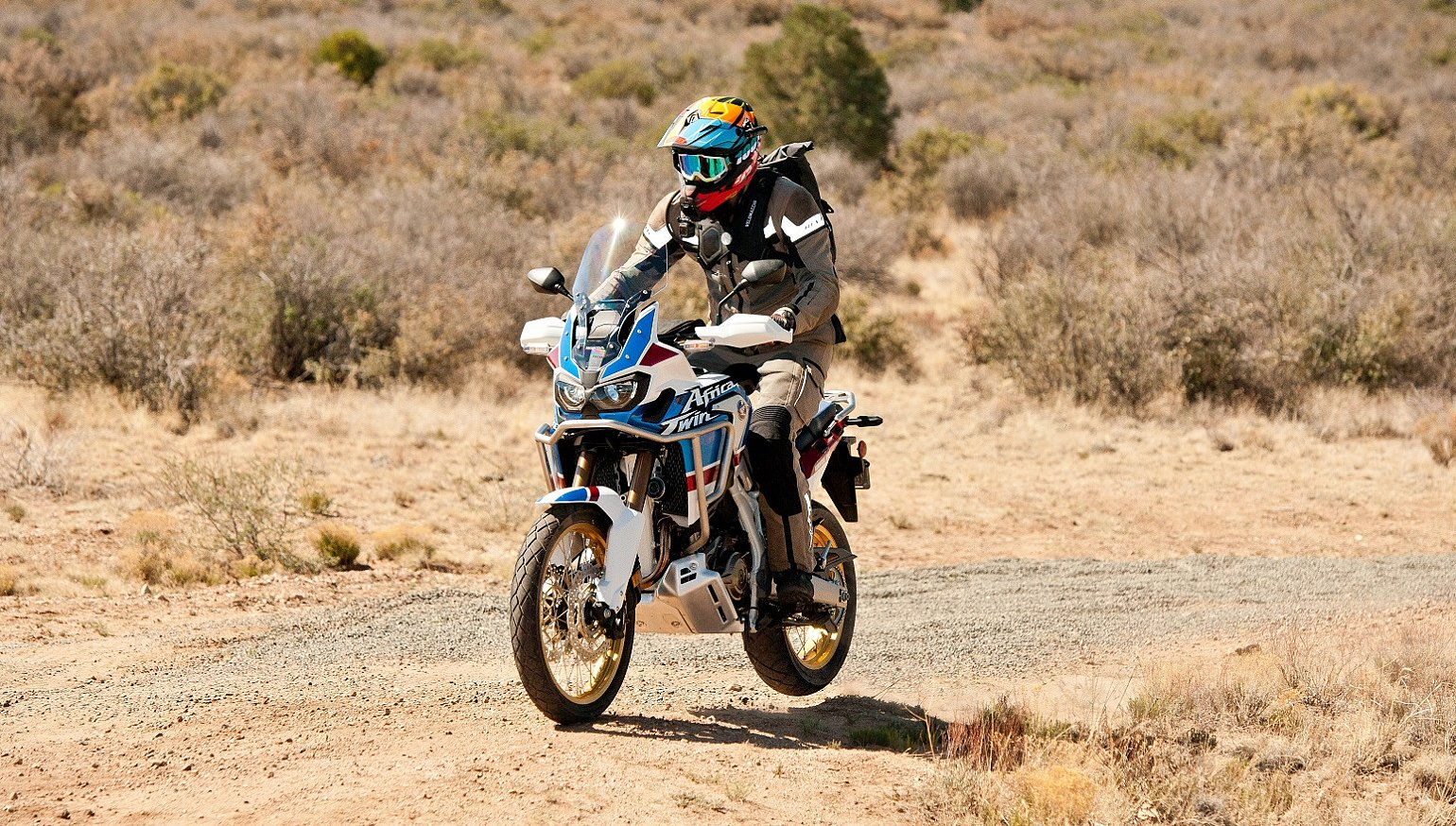 2018 Honda CRF1000L2 Africa Twin Adventure Sports first ride