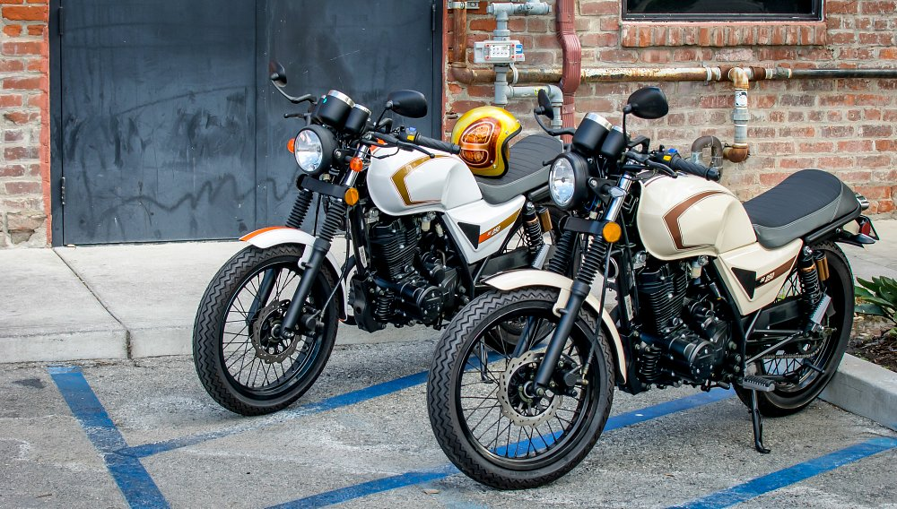 CSC's new SG250 Café Racer is $1,995