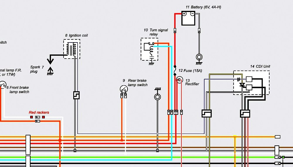 How To Motorcycle Tips Tricks Hacks Pro Info Advice Mon Tread Revzilla: 77 Oliver 12 Volt Wiring Diagram At Sewuka.co