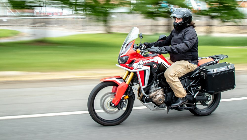 Lemmy tests the Africa Twin in the real-life adventures of daily life